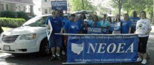 NEOEA 2012 parade group
