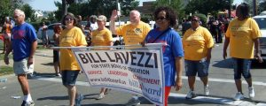 Our group steps off in the 11th Congressional District Parade.