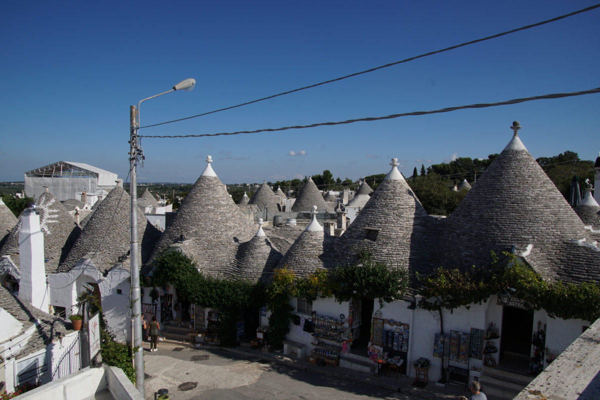 From Sasso to Trullo