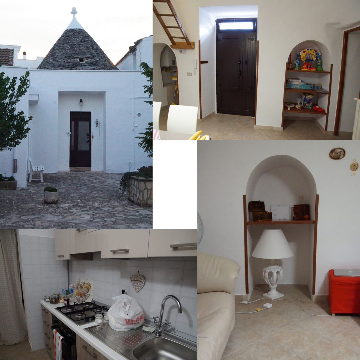 Our Night in a Trullo